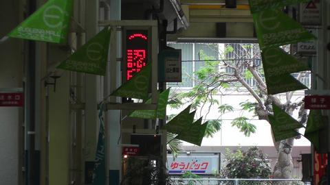 Rural Japanese Market in Okinawa Islands 10 Stock Video Footage