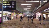 Singapore Changi Airport 06 60fps native slowmotion handheld Footage