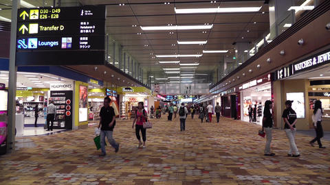Singapore Changi Airport 06 60fps native slowmotion handheld Footage