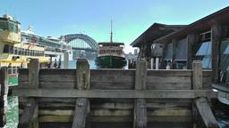 Sydney Circular Quay Port 01 Stock Video Footage