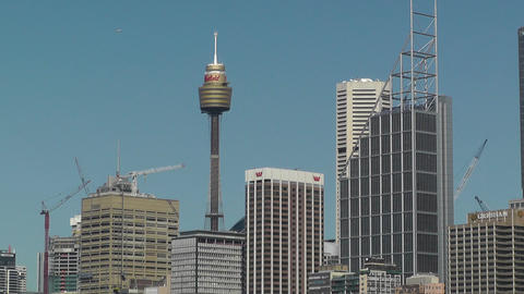 Sydney Downtown view Footage