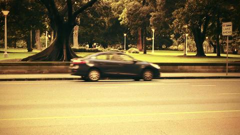 Sydney Elizabeth Street 70s old film stylized 02 Footage