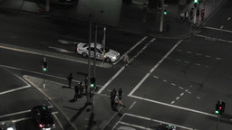 Sydney Elizabeth Street Liverpool Street at Night 02 timelapse Footage