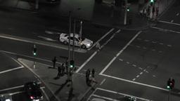Sydney Elizabeth Street Liverpool Street at Night 02 timelapse Footage