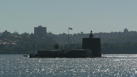 Sydney Harbour Fort Denison 01 Footage