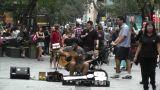 Sydney Pitt Street Musician 05 Footage