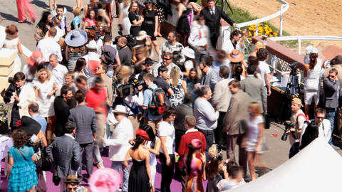 beautiful people on the Event Stock Video Footage