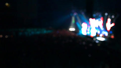 concert light and background Stock Video Footage