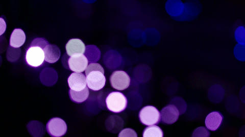 Shaking purple lighting at night Stock Video Footage