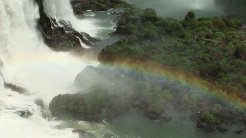 Brazil: Iquazu Falls, Devil's Throat 2 Stock Video Footage