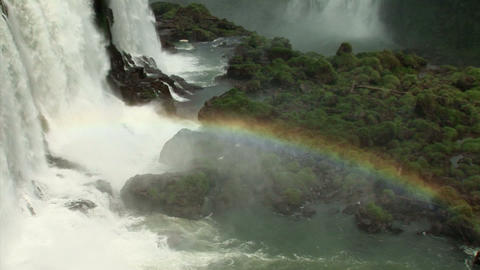 Brazil: Iquazu Falls, Devil's Throat 2 Stock Video Footage