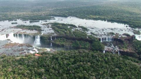 Brazil: Iquazu Falls, Devil's Throat 7 Stock Video Footage