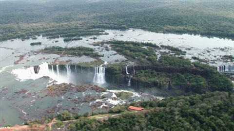 Brazil: Iquazu Falls, Devil's Throat 7 Stock Video Footage