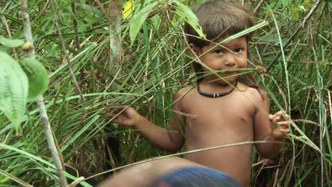 Brazil: people of Amazon river region 1 Stock Video Footage