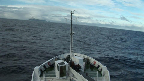 South Georgia: travel on expedition ship 4 Stock Video Footage