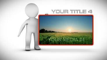 LITTLE MAN PRESENTATION After Effects Template