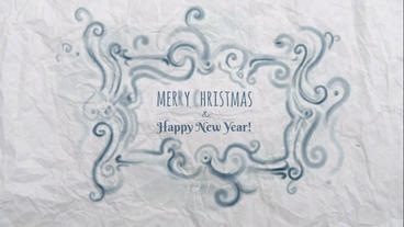 Christmas and New Year Video Card After Effects Template