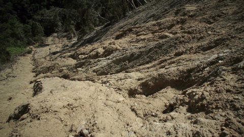 Clay Soil Landslide Tilt Up