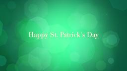 St. Patricks Animated background 動畫