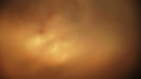 Ghostly Soft Orange Lights, Ice And Sun From Arctic Circle stock footage