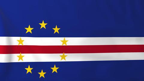 Flag of Cape Verde Animation