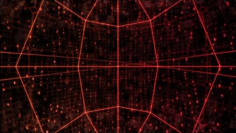 sha red cyber bg image Animation