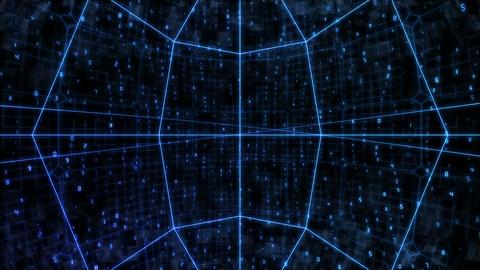 sha blue cyber bg image Animation