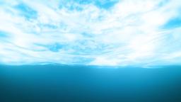 Under Wavy Sea Stock Video Footage