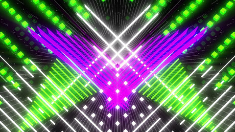 VJ Loop Color Symmetry 2 Animation
