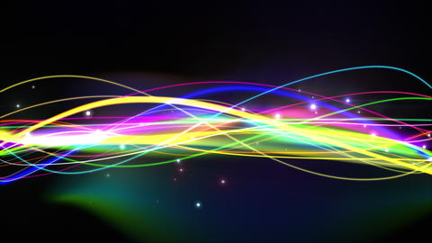 Abstract Color Lines Loop stock footage