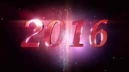 New Year 2016 Loopable Background Animation