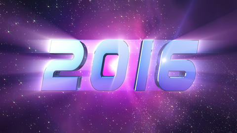 2016 New Year countdown animation Animation