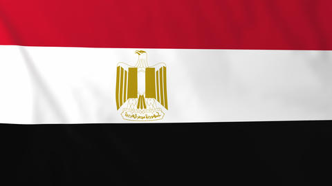 Flag of Egypt Animation