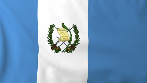Flag of Guatemala Animation