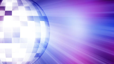 Shiny Disco Ball Footage, 4K stock footage