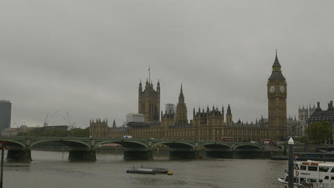 London Palace Of Westminster stock footage