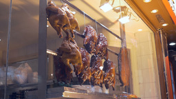 Chinese Restaurant Chicken Grill Footage