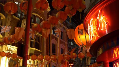 London Chinatown Lanterns Live Action