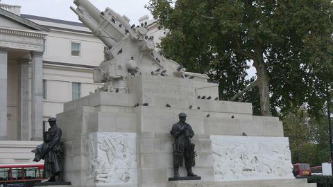 London Royal Artillery Memorial Footage