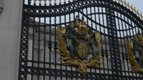 Great Britain Coat of Arms Stock Video Footage