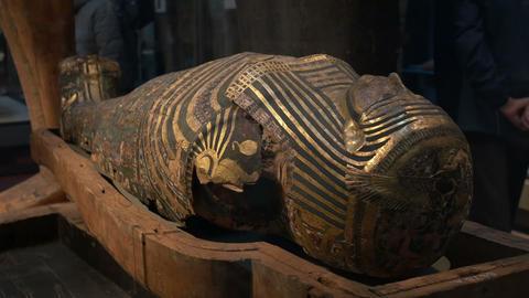 A Gilded Mummy Footage