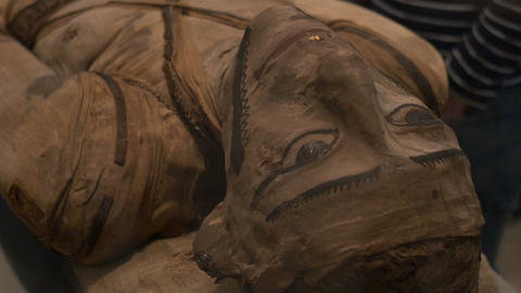 Egyptian Mummy Unveiled Footage