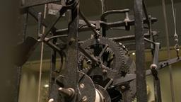 Ancient Cogwheel Mechanism Footage
