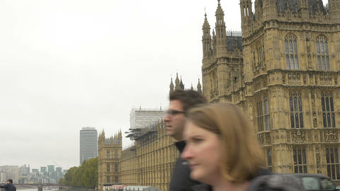 Great Britain House of Parliament Footage