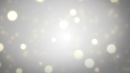 Moving Gloss Particles On Silver Background Animation