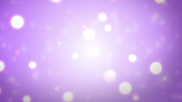 Moving Gloss Particles On Violet Background Animation