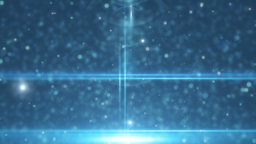 Abstract blue animation background lens flare CG動画素材