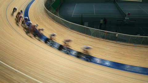 cycling races on the track Live Action