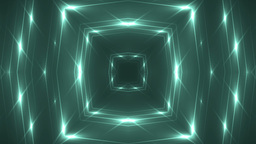 Fractal neon kaleidoscopic background Animation