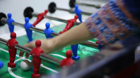table football, soccer table game, Live Action